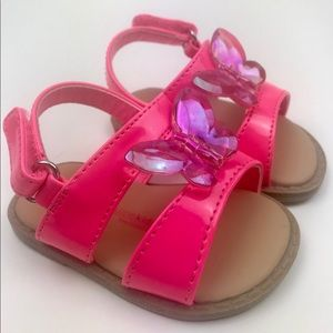 Size 2 Baby Girl sandals summer shoes
